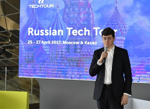 Skolkovo's senior vice president for innovations Vasily Belov