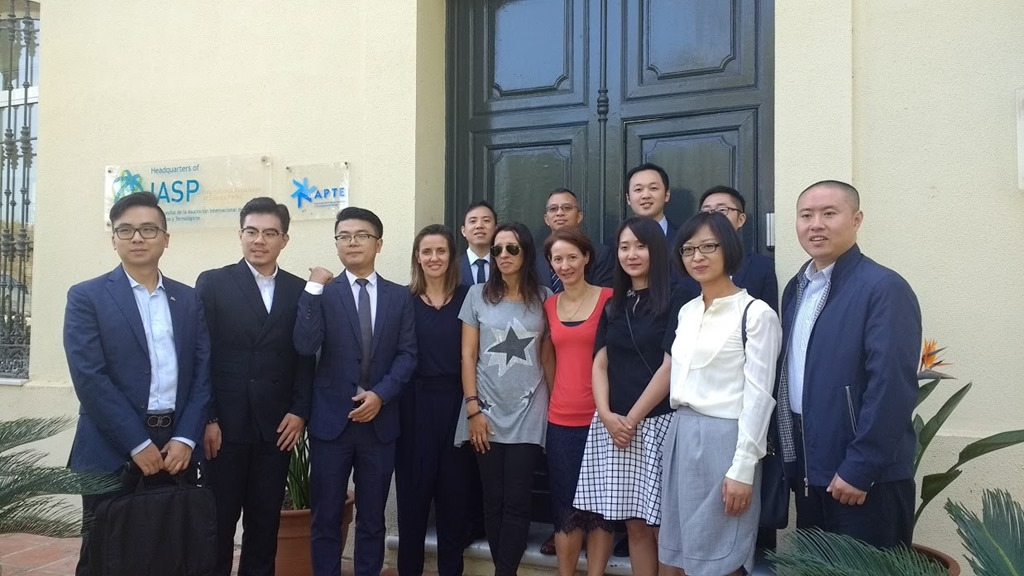 Chinese delegation visits IASP