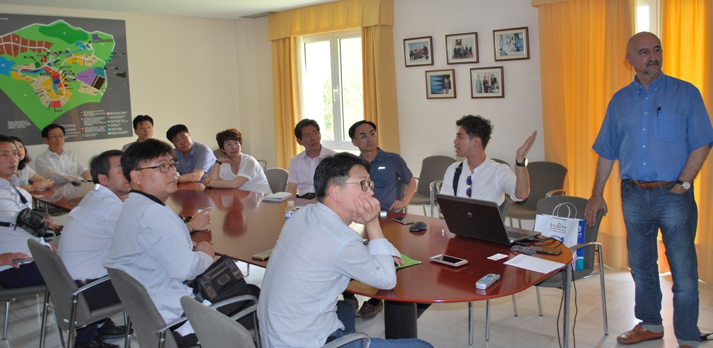 Chungbuk Technopark visits IASP Headquarters