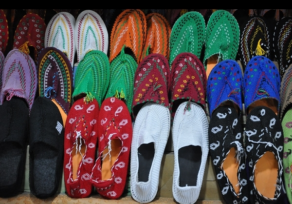 Traditional giveh shoes