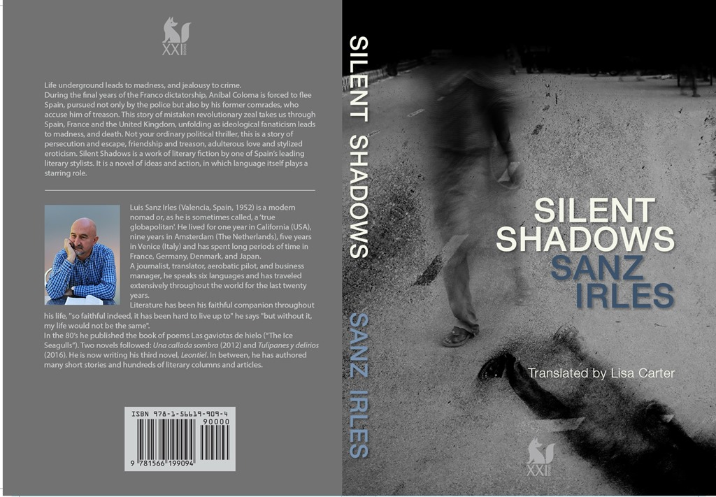 The front cover of Silent Shadows