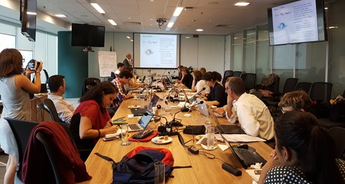 The INCOBRA project meeting in Rio