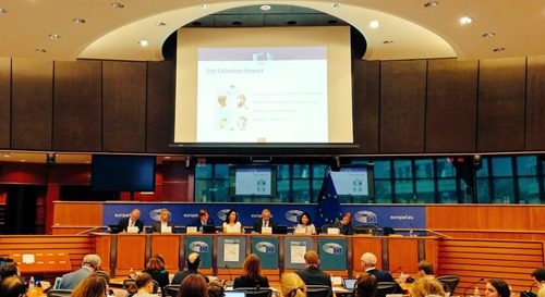 The STOA workshop in the European Parliament, Brussels