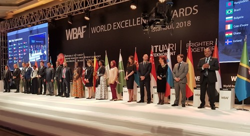 The new WBAF High Commissioners on stage
