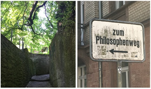 Philosophers' Walk in Heidelberg