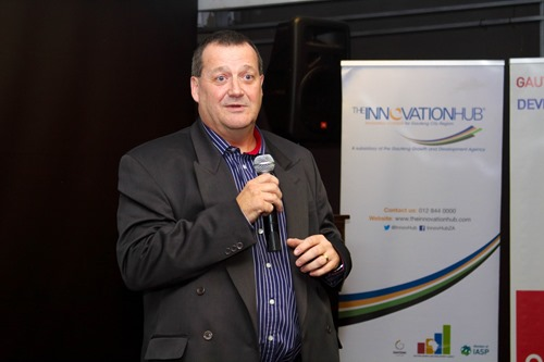 Advocate Pieter Holl, CEO of The Innovation Hub