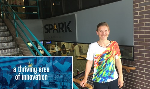 Ebba Lund at the SPARK Innovation Center