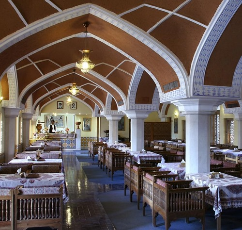 One of the Abbasi hotel restaurants