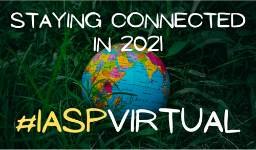 Staying connected with IASP