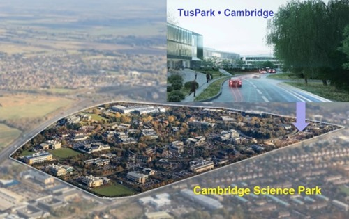The TusPark Cambridge site